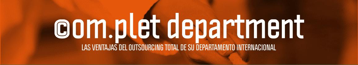Outsourcing del Departamento Internacional