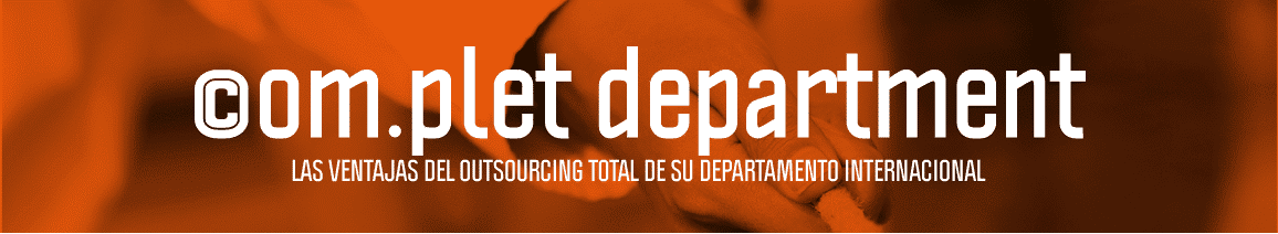 Outsourcing del Departamento Internacional